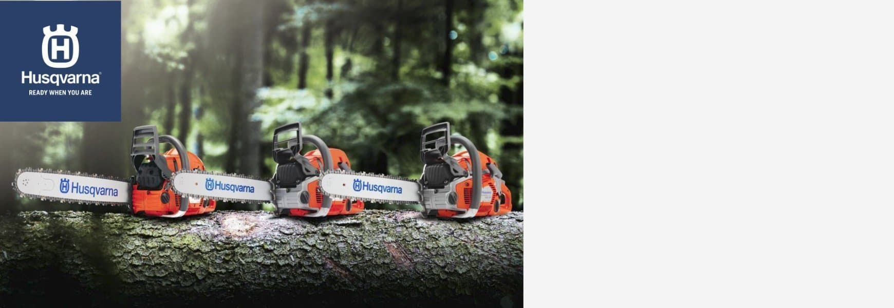 We now carry Husqvarna Equipment. Stop in and check out all the new products
