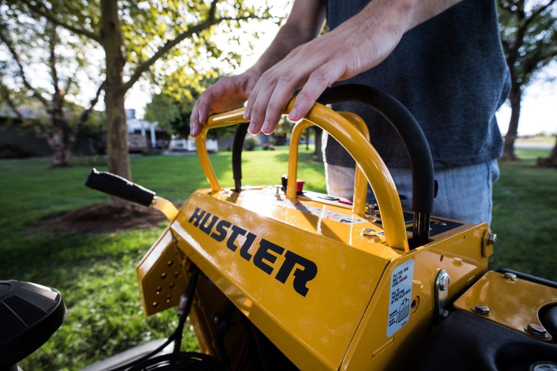 Hustler Super S Drive Controls