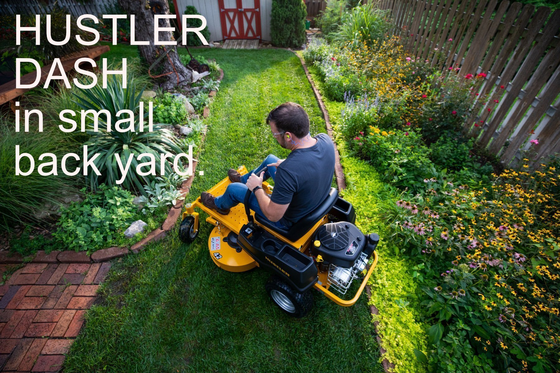 Hustler Dash - Small Back Yard